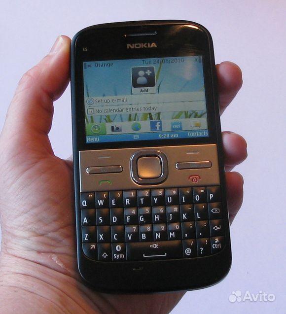 Пожаловаться на сообщение продам Nokia E5-00 Black состояние 5- , раб