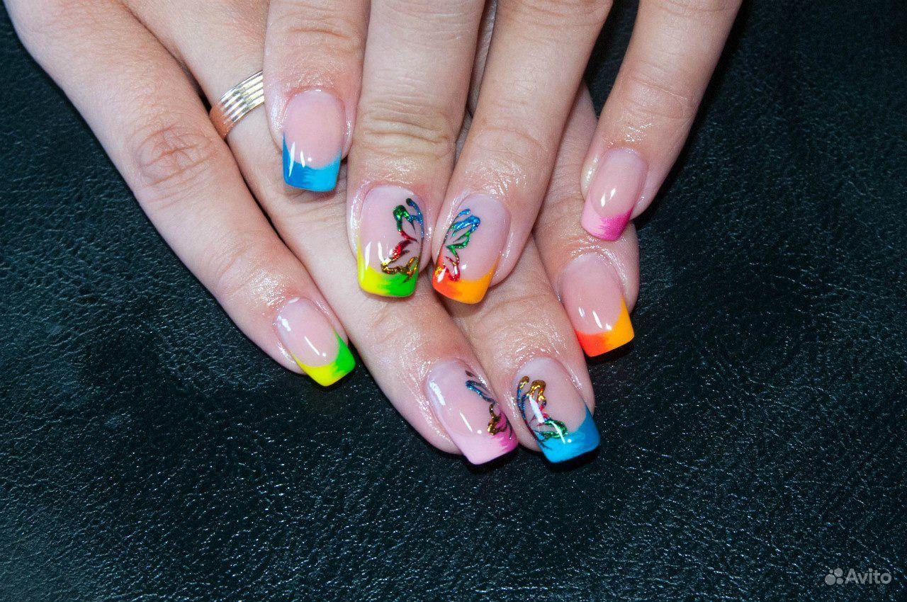 Рисунки и оформление ногтей