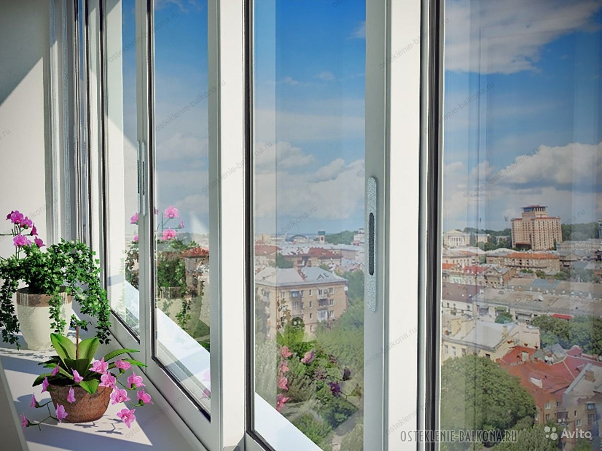 Лоджия с раздвижными окнами фото..