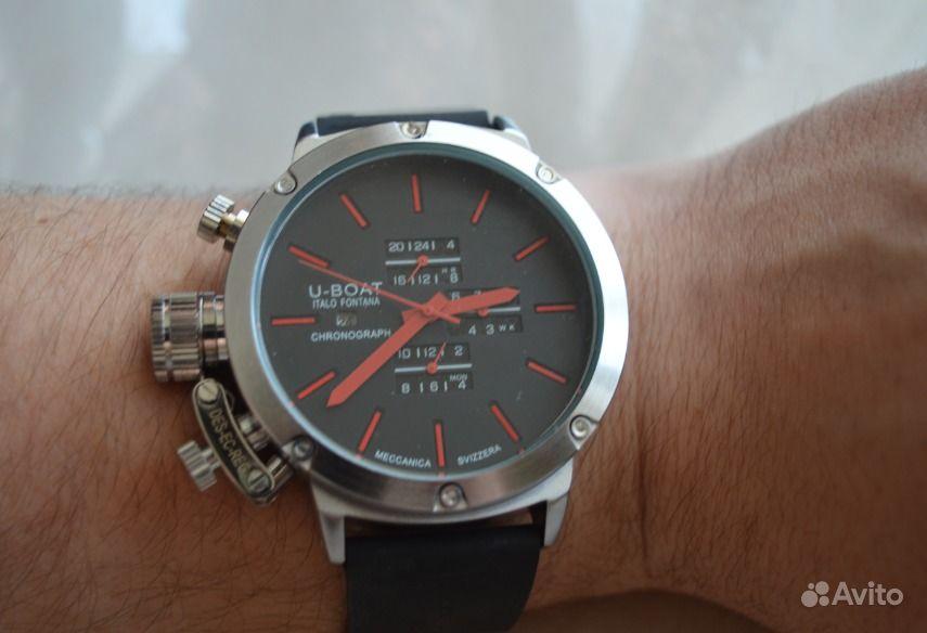 ed8af561cbef4 Механические часы Uboat IF Red (убоат) 1134667245