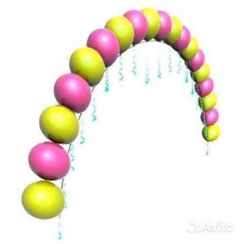 Арка с воздушных шаров