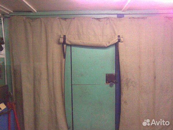 Рулонная штора в гараж своими руками