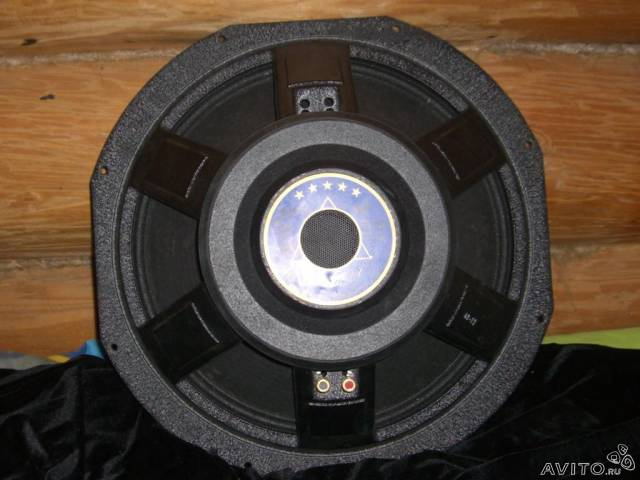 Динамик P. audio S18-100LF Blue Monster