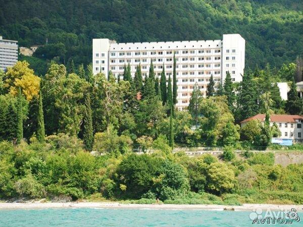 Абхазия лето 2014 гагра пансионат