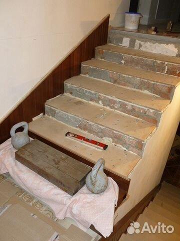 Облицовка бетонной лестницы своими руками