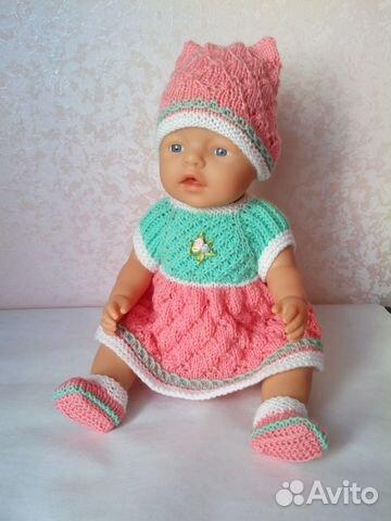 Вязание для куклы беби бона 358