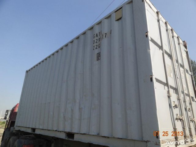 Щёлкните для просмотра следующей фотографии.  Продам морские крупнотоннажные контейнера.