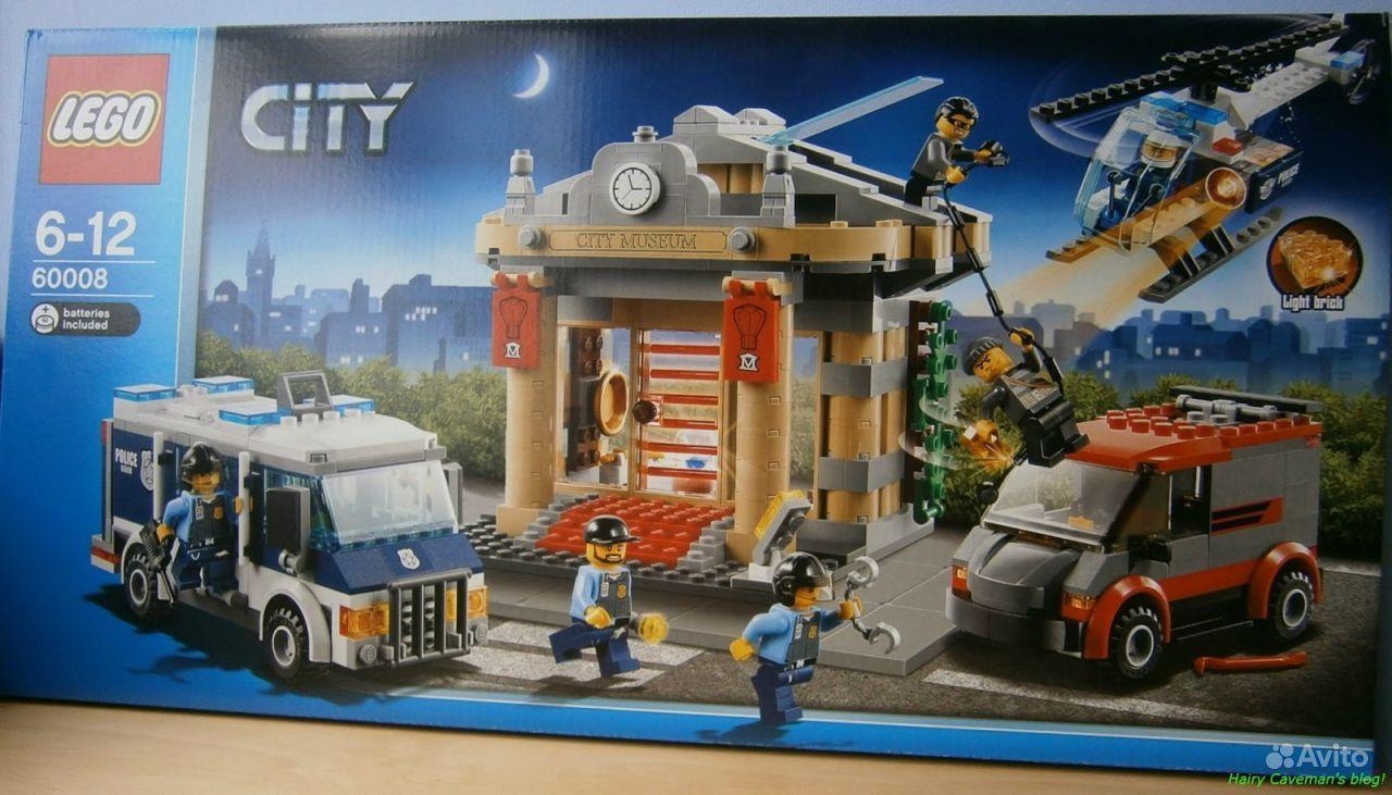 Lego City Ограбление музея 60008 купить в Москве на Avito ...