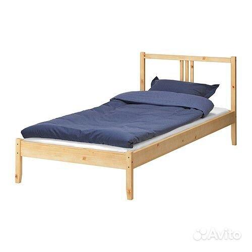 Кровати из массива сосны - Кровать односпальная