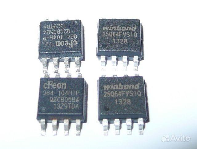 25q64 - м/схема флеш-памяти