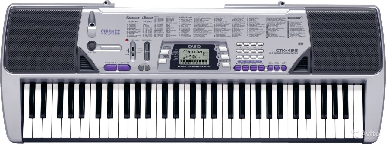 Casio Ctk 496 Инструкция