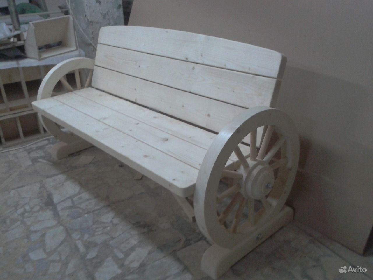 Уличные скамейки купить на Вуёк.ру - фотография № 2