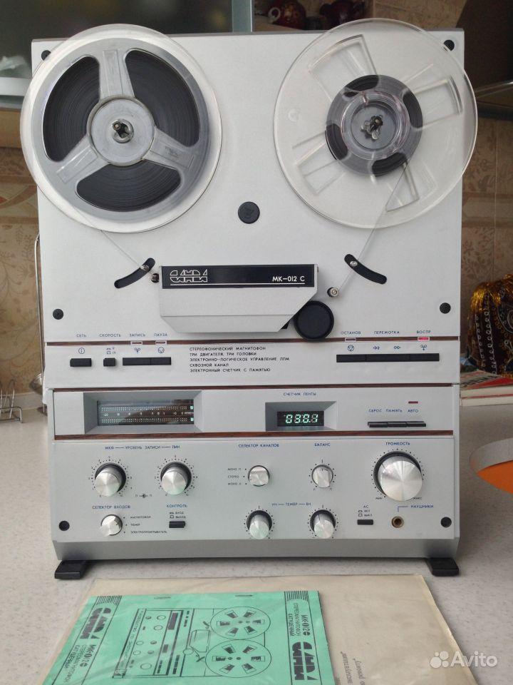 магнитофон Санда мк-012С +