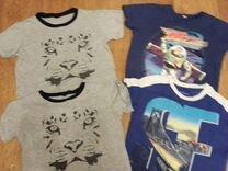 4 футболки и штаны размер 110
