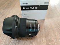 Sigma 24mm f1.4 art Nikon Nikkor F