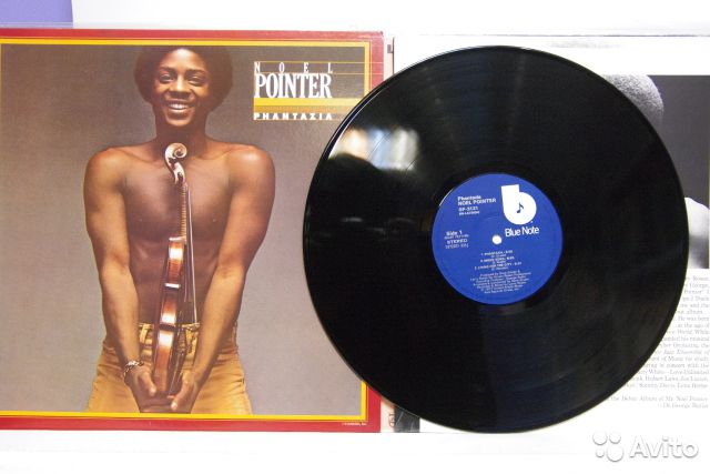 Noel Pointer Phantazia Japan Blue Note винил джаз— фотография №1