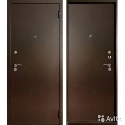 стальная дверь сейфового типа