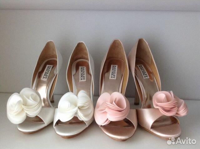 Badgley mischka туфли свадебные