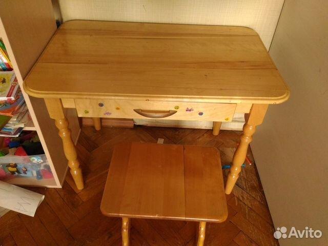 Детский столик и стульчик  б у