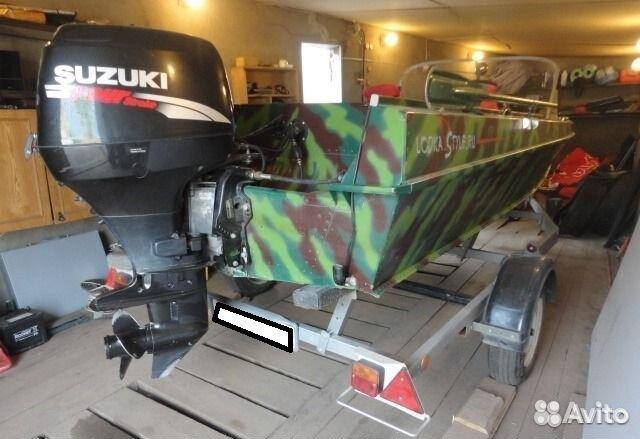 купить лодку казанка 5м4 бу без мотора