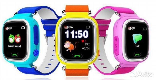 Умные часы smart baby watch q80 pink это какой