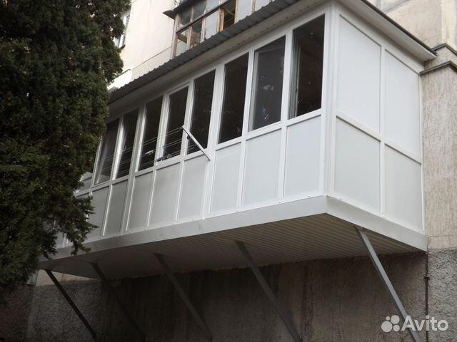 Услуги - расширение, остекление балконов, лоджий, пристройк .