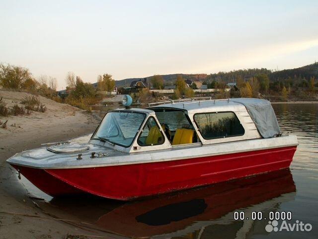 в самаре купить с рук моторную лодку