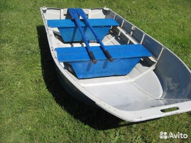железная лодка фото
