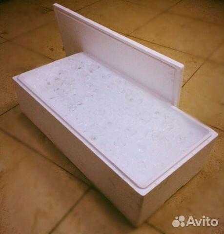 Пенопластовые ящики для рыбы купить бу