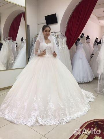 Платья свадебные 2017 со шлейфом