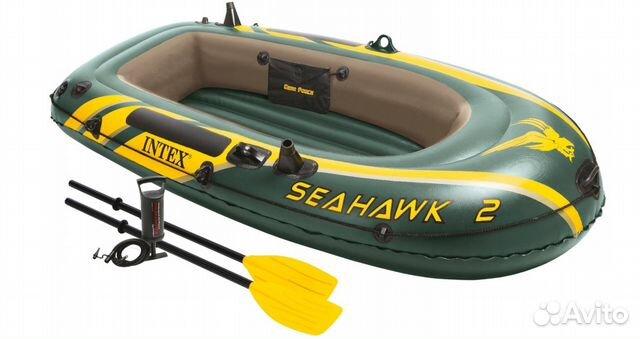 размер двухместной надувной лодки