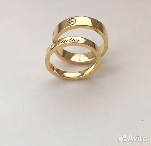 b4a88bf27271 Золотые обручальные кольца Cartier купить в Москве на Avito ...
