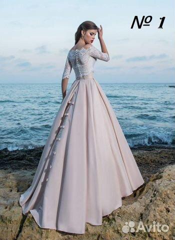 817389ee05f598b Вечернее платье длинное в пол со шлейфом, пышное | Festima.Ru ...