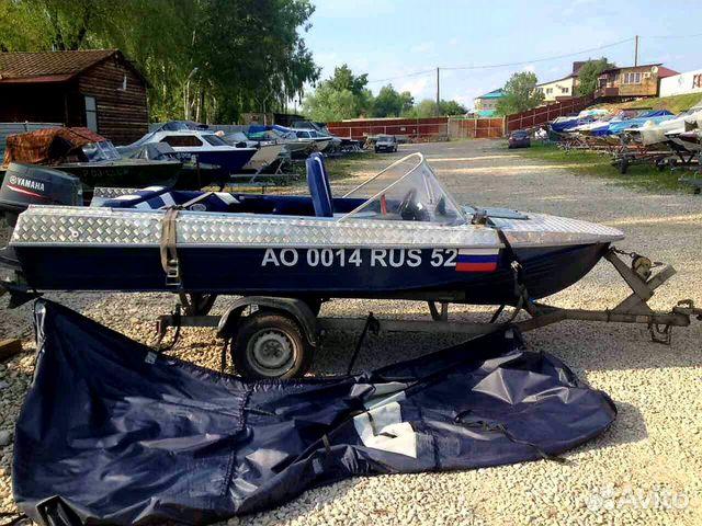 лодка обь 3 м с мотором ямаха 40