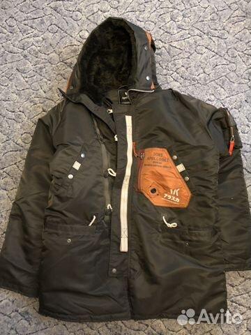 070e6a49 Куртка аляска apolloget sapporo (Beluga) купить в Москве на Avito ...