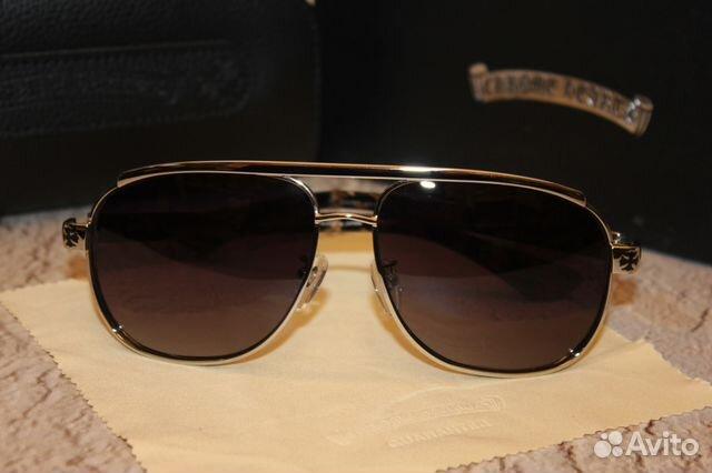 Солнцезащитные очки Chrome Hearts Boneyard купить в Москве на Avito ... 0fbe87723a2ac