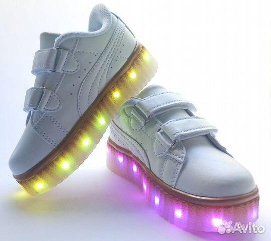 b50a8f52 Светящиеся кроссовки детские 34 размер купить в Свердловской области ...