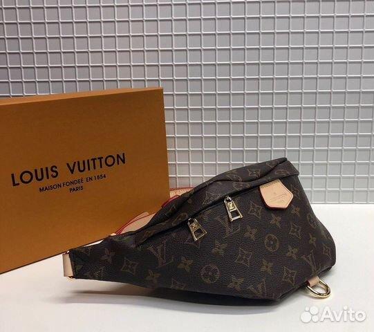 caa437e68b6f Сумка на пояс Louis Vuitton Bumbag LV Monogram купить в Москве на ...