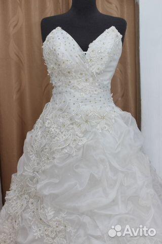 a957e3801f6 Новое свадебное платье 42-46 размер купить в Кемеровской области на ...