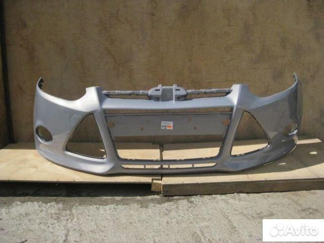 Форд Фокус 3 - новый бампер в цвет dark micastone