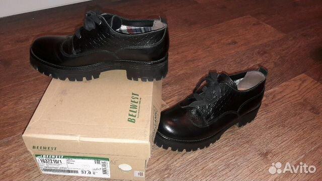 Ботинки (туфли) belwest 37 размер 89132721450 купить 3