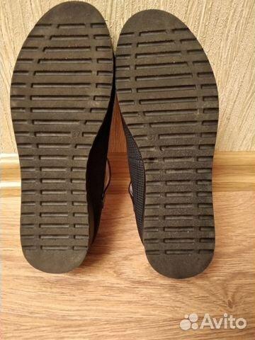 Туфли школьные, р.37 (по стельке 23,5 см) 89021357716 купить 3
