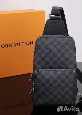 45127c547b08 Мужская сумка слинг авеню Louis Vuitton | Festima.Ru - Мониторинг ...