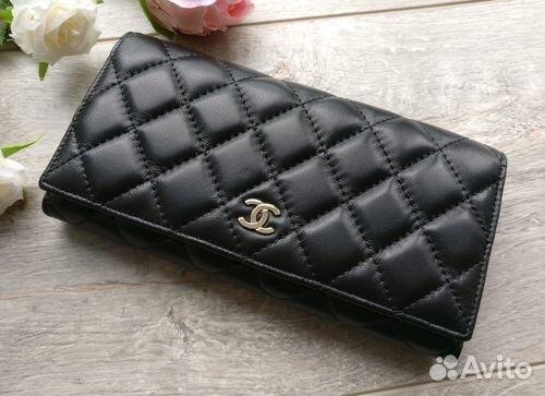 029053598485 Черный кошелек Chanel натуральная кожа новый | Festima.Ru ...
