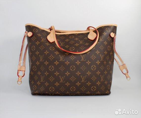 c1233bbe1bf9 Кожаная сумка шоппер Луи Виттон Louis Vuitton | Festima.Ru ...