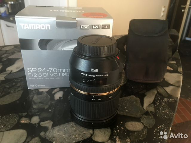 Tamron 24-70 USD VS (Canon)