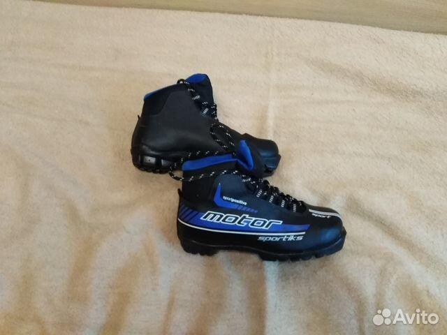 Детские лыжные ботинки, 34-35 размер   Festima.Ru - Мониторинг ... c45bebf477c