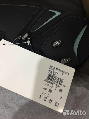 sale retailer a45e1 36aec Ботинки solomon X ultra MID winter CS WP W купить в Москве ...