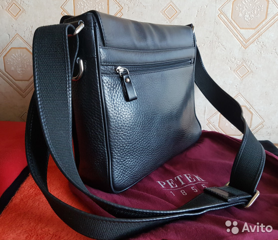 6076c84028e6 Мужская сумка Petek 1855 (натуральная кожа) | Festima.Ru ...