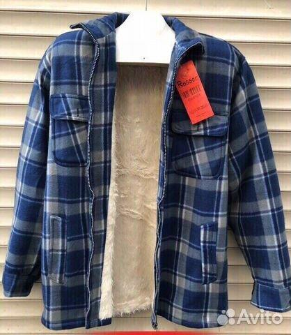 6a0cd8d3bbe Рубашка кофта теплая мужская новая